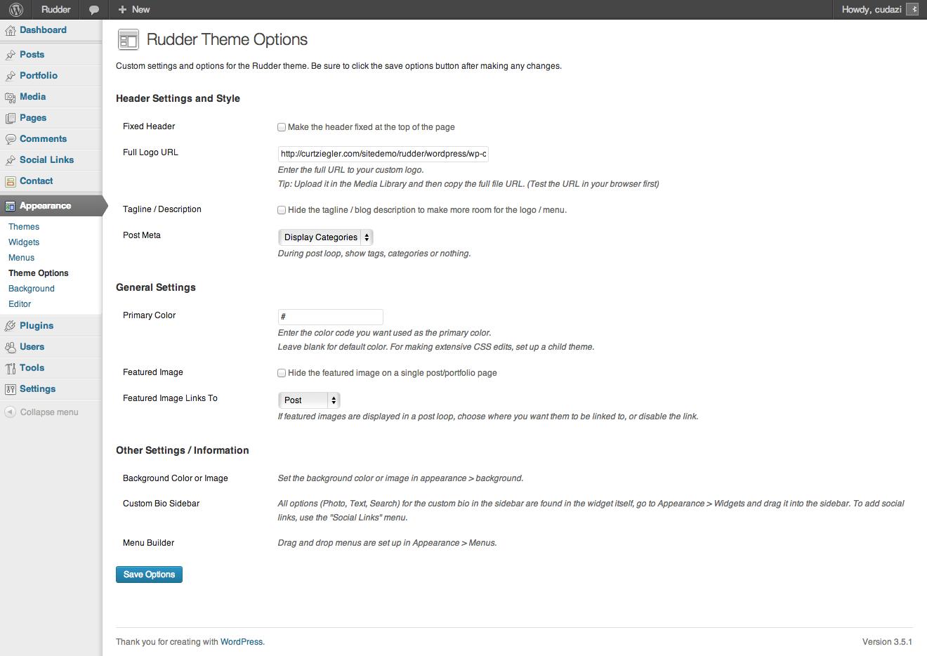 Rudder - Responsive HTML5/CSS3 Lifestyle Blog
