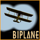Biplane in Binoculars - ActiveDen Item for Sale