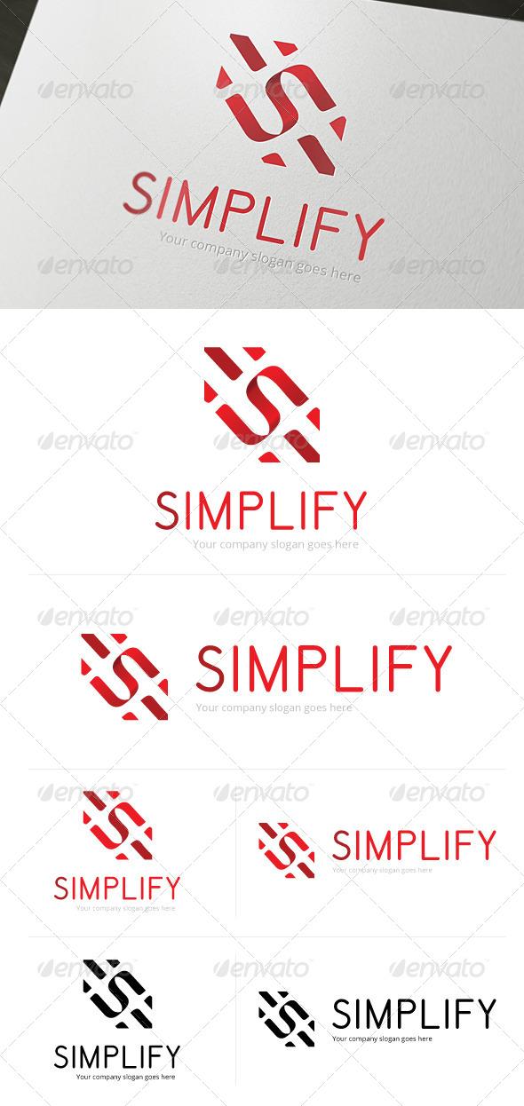 GraphicRiver Simplify Logo Template 4805522
