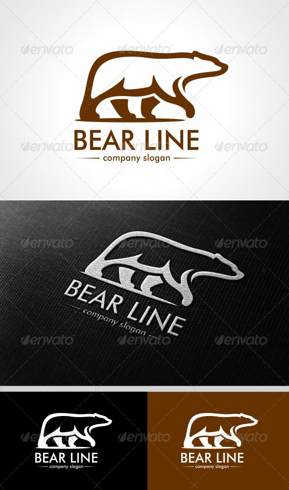 GraphicRiver Bear Line 4805607