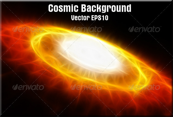 GraphicRiver Cosmic Background 4805723