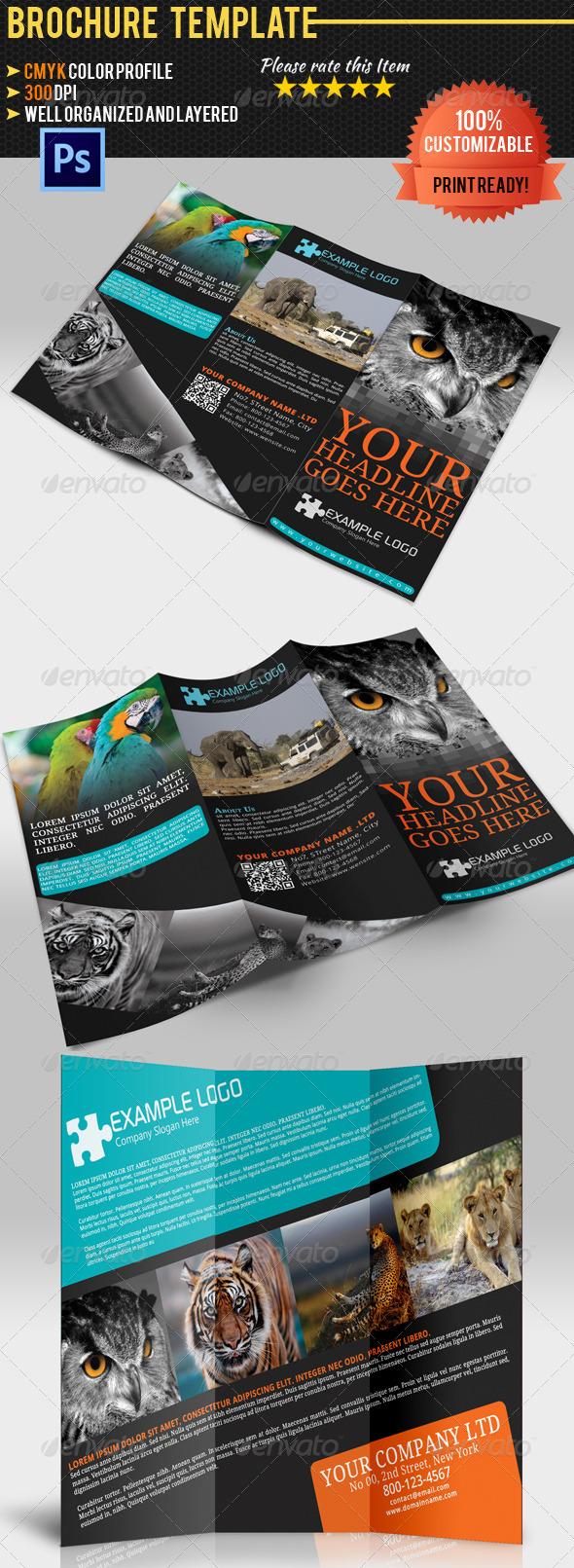 GraphicRiver Adventure Travel Brochure Templatre 4727926