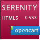 Serenity Fluid/Responsive Premium Opencart Theme  Free Download