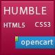 Humbleshop Minimal Opencart Theme  Free Download