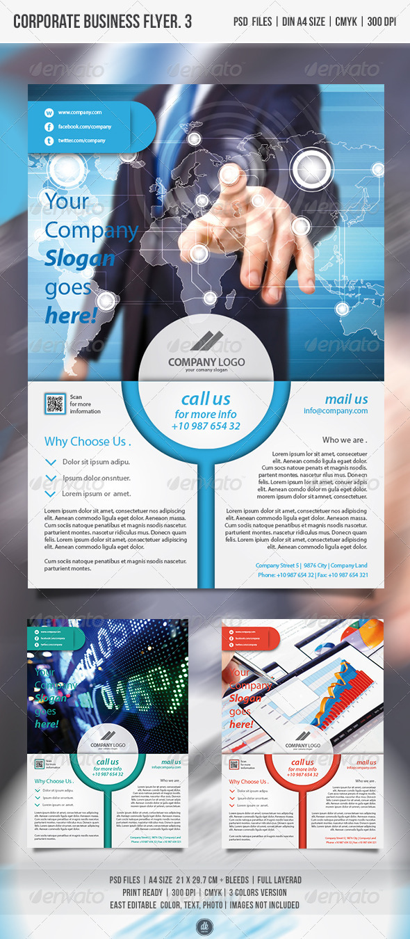 GraphicRiver Corporate Business Flyer vol.3 4806977