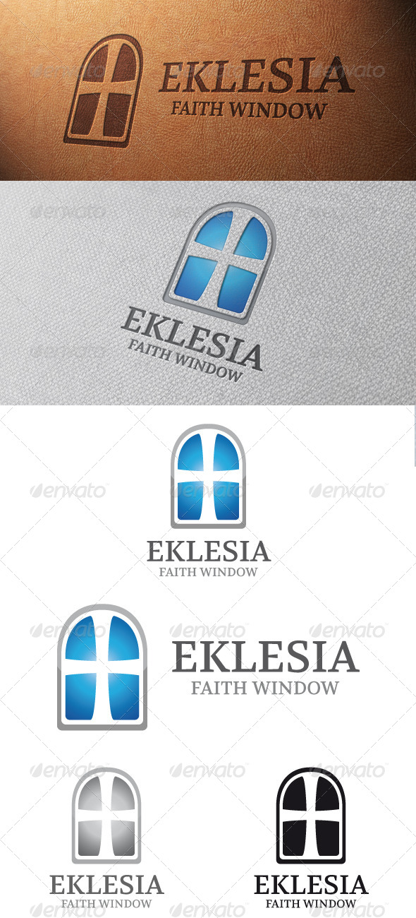 GraphicRiver Church Logo Template 4807813