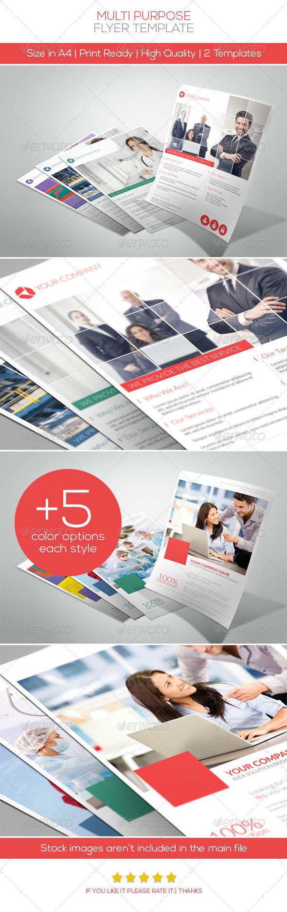 GraphicRiver Multi Purpose Flyer Vol.2 4808425