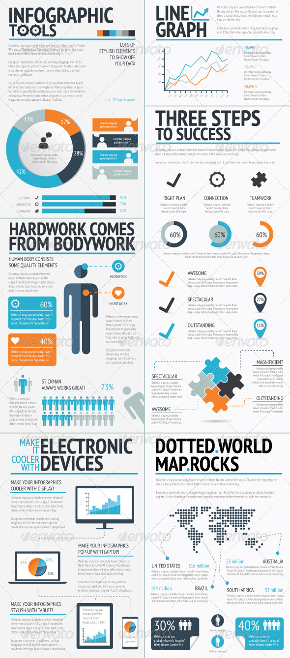 GraphicRiver Infographics Tools Set 4808903