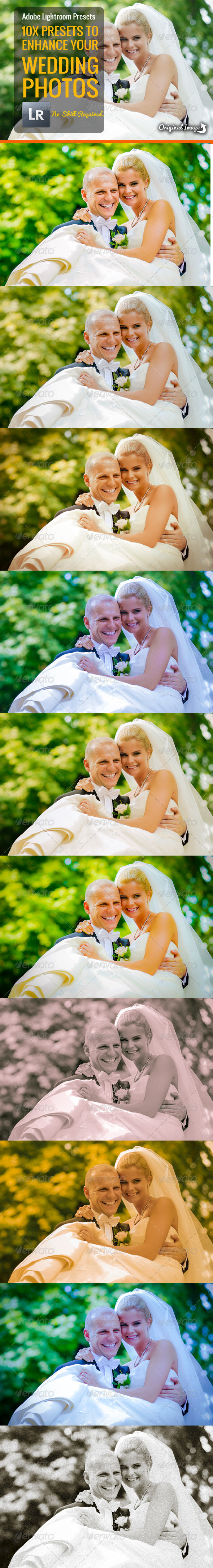 Wedding Photo Presets - Lightroom Presets Add-ons
