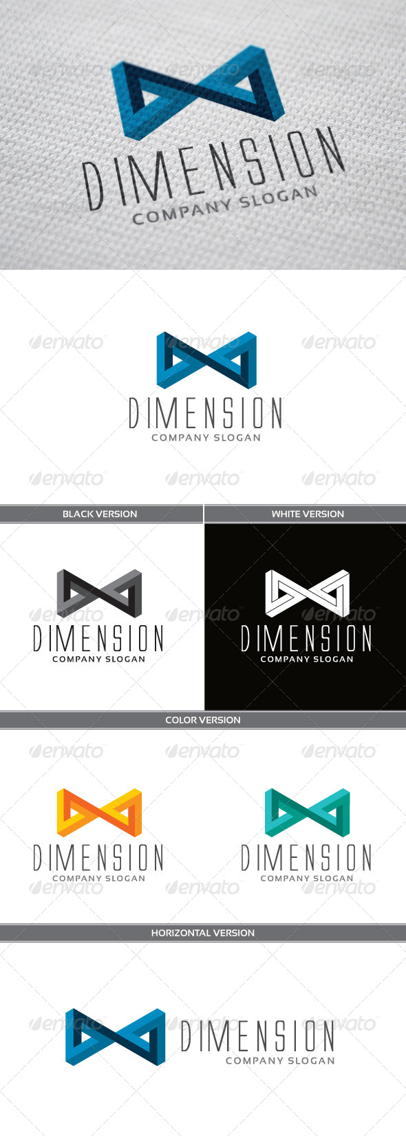 GraphicRiver Dimension Logo 4809813