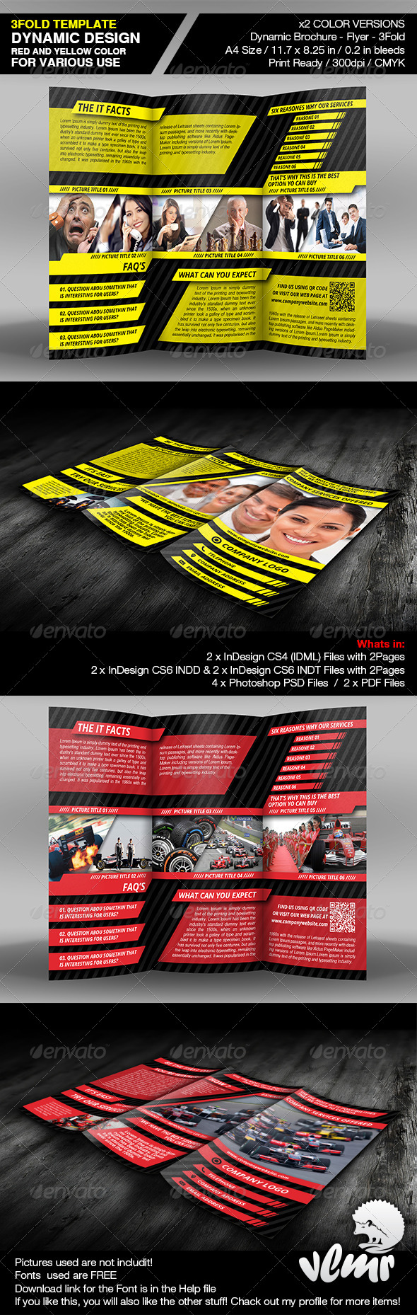 GraphicRiver Dynamic Brochure 3Fold Template 4728779