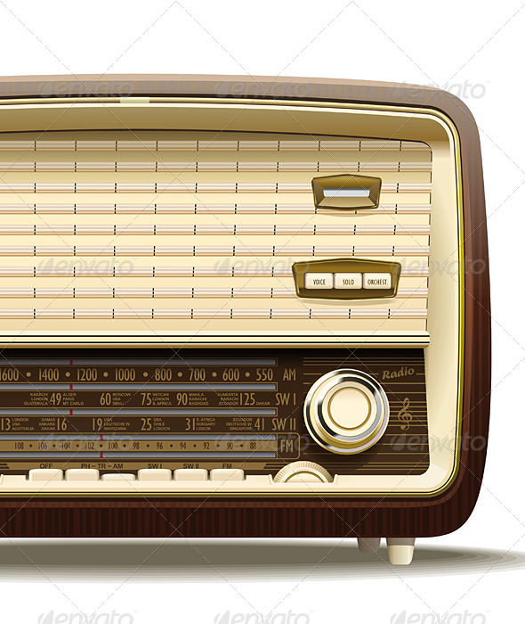 GraphicRiver Old Radio 4812133