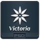 Victoria - PSD Email Template - GraphicRiver Item for Sale