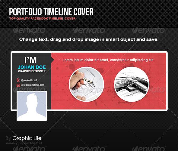 GraphicRiver Portfolio Timeline Cover 4812647