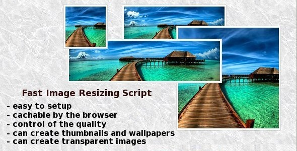 Fast Image Resizing Script