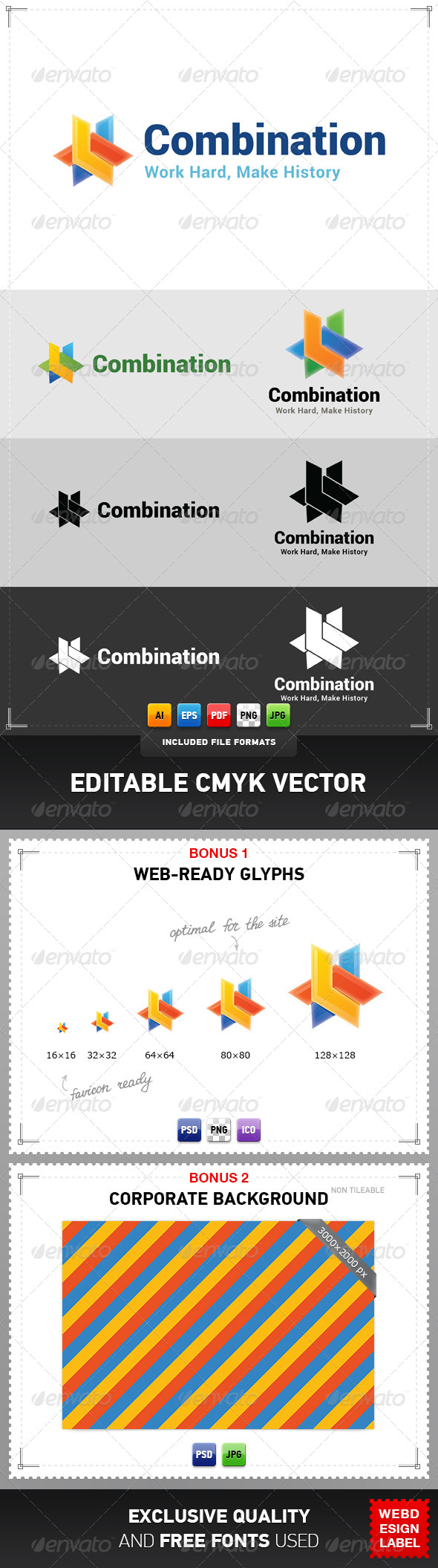 GraphicRiver Combination Logo 4812862