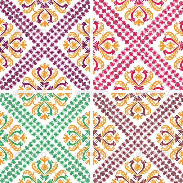 GraphicRiver Classic Vintage Patterns 4799461
