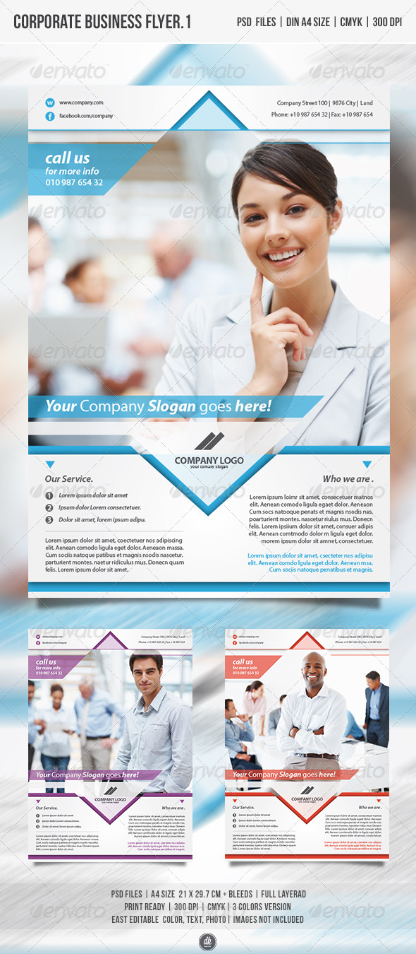 GraphicRiver Corporate Business Flyer Vol.1 4698157
