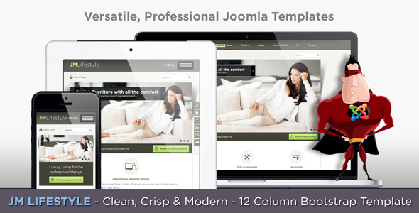 JM Lifestyle - Responsive Business Joomla Template