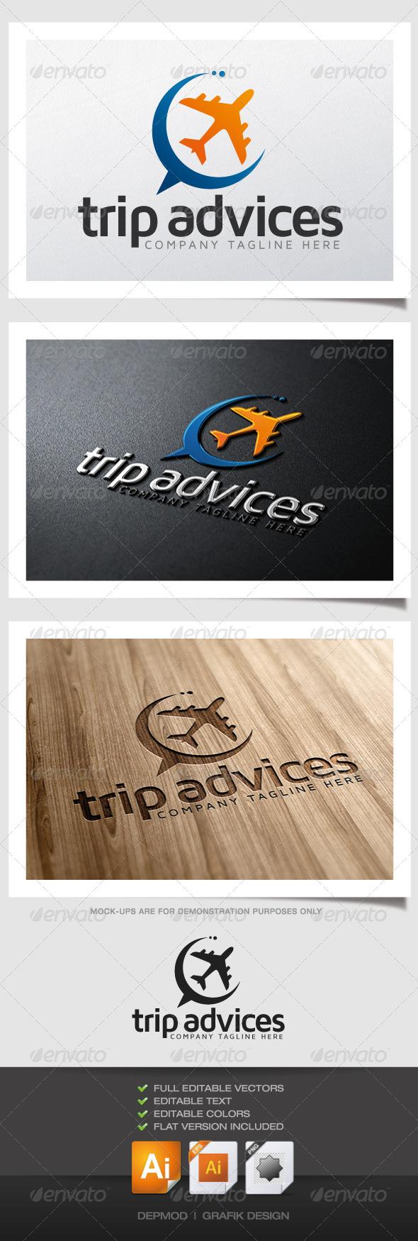 GraphicRiver Trip Advices Logo 4814163