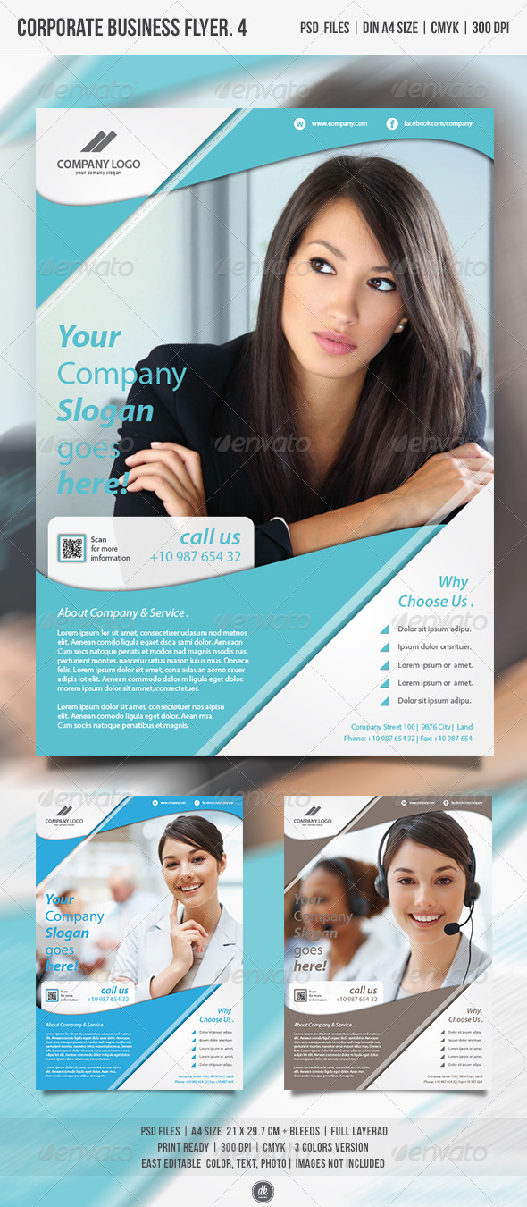 GraphicRiver Corporate Business Flyer Vol.4 4814544