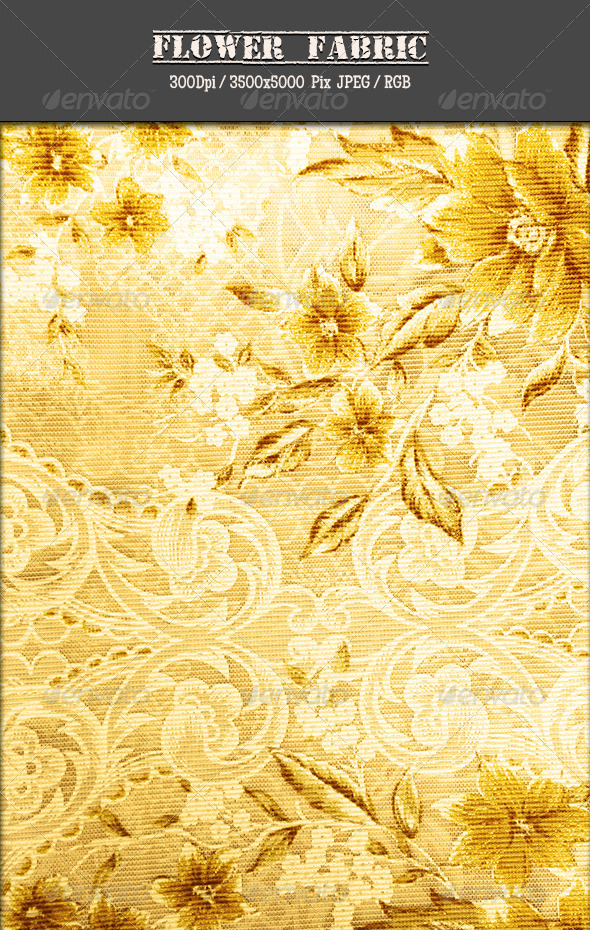 GraphicRiver Flower Fabric 8 4814940