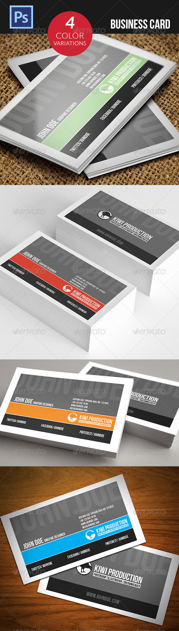 GraphicRiver Business Card 4815032