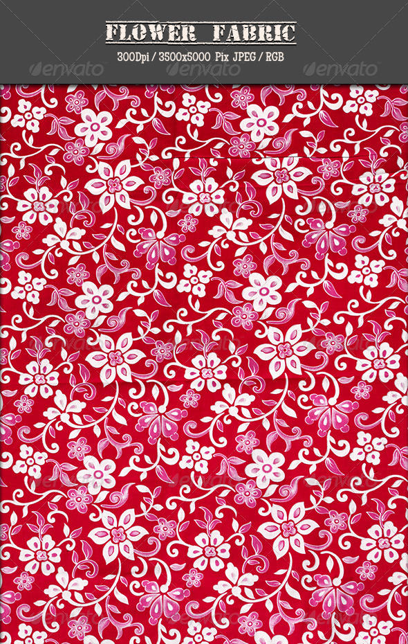 GraphicRiver Flower Fabric 12 4815039