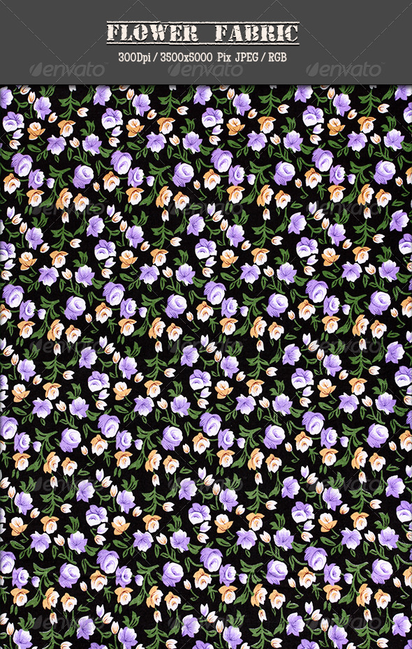GraphicRiver Flower Fabric 13 4815044