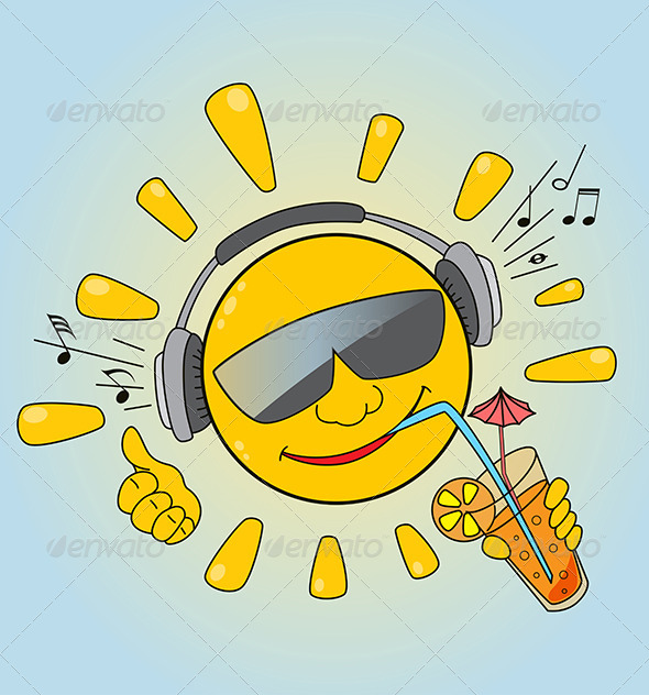 GraphicRiver Sun and Music 4815336