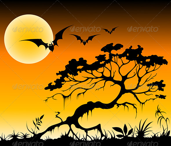 GraphicRiver Halloween Background 4815348