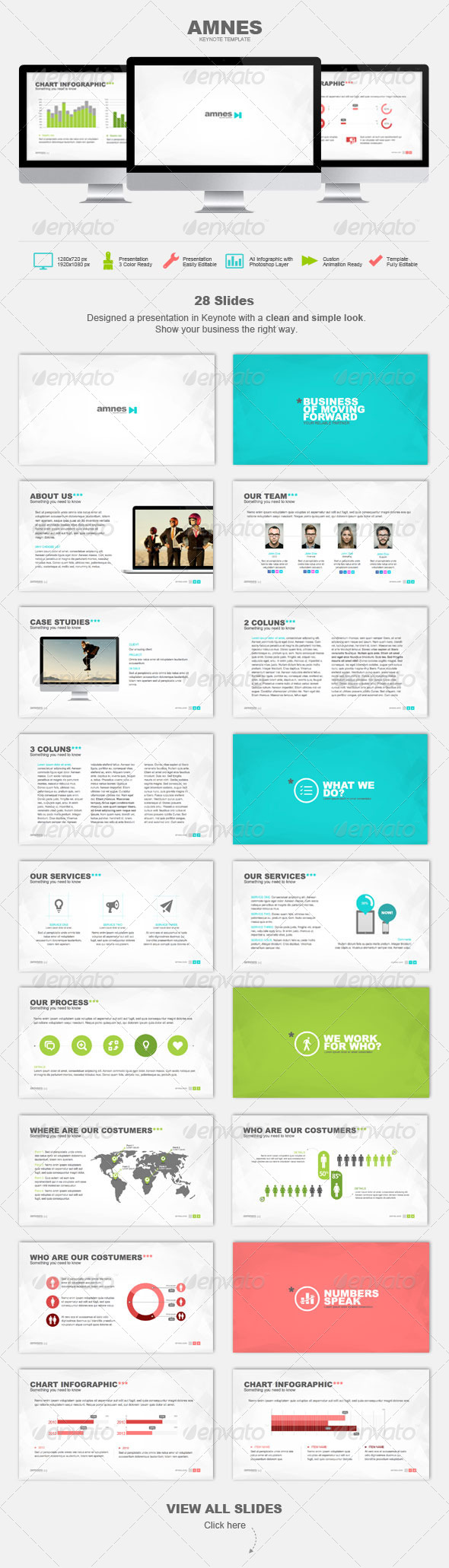 GraphicRiver AMNES Keynote Template 4815747