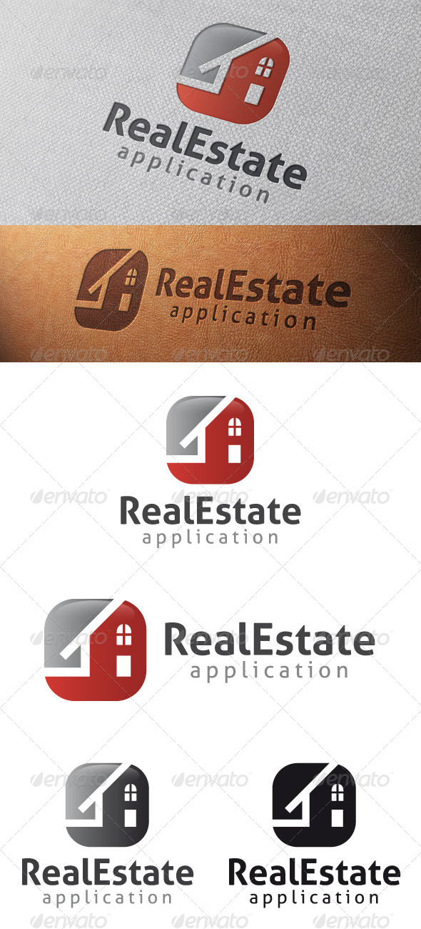GraphicRiver Real Estate App Logo Template 4816017