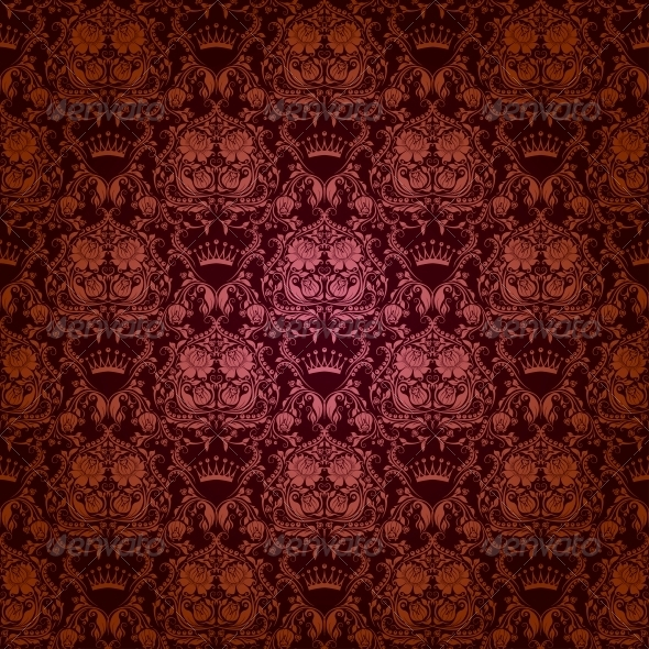 GraphicRiver Damask Seamless Floral Pattern 4816930