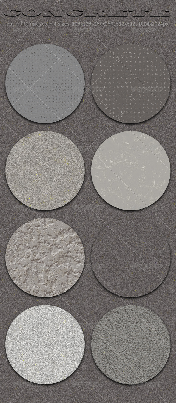 GraphicRiver 8 Concrete Seamless Tiling Patterns 4816932