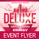 Deluxe Party Celebration Flyer Template - GraphicRiver Item for Sale