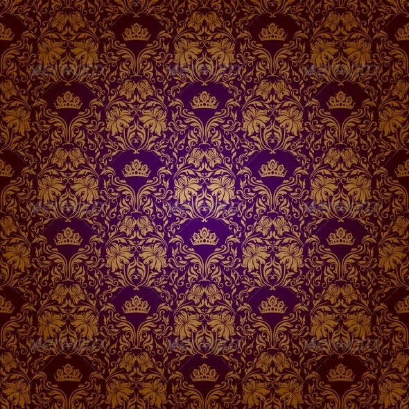 GraphicRiver Damask Seamless Floral Pattern 4817079