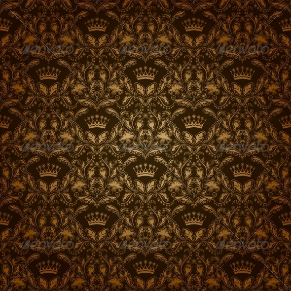 GraphicRiver Damask Seamless Floral Pattern 4817085
