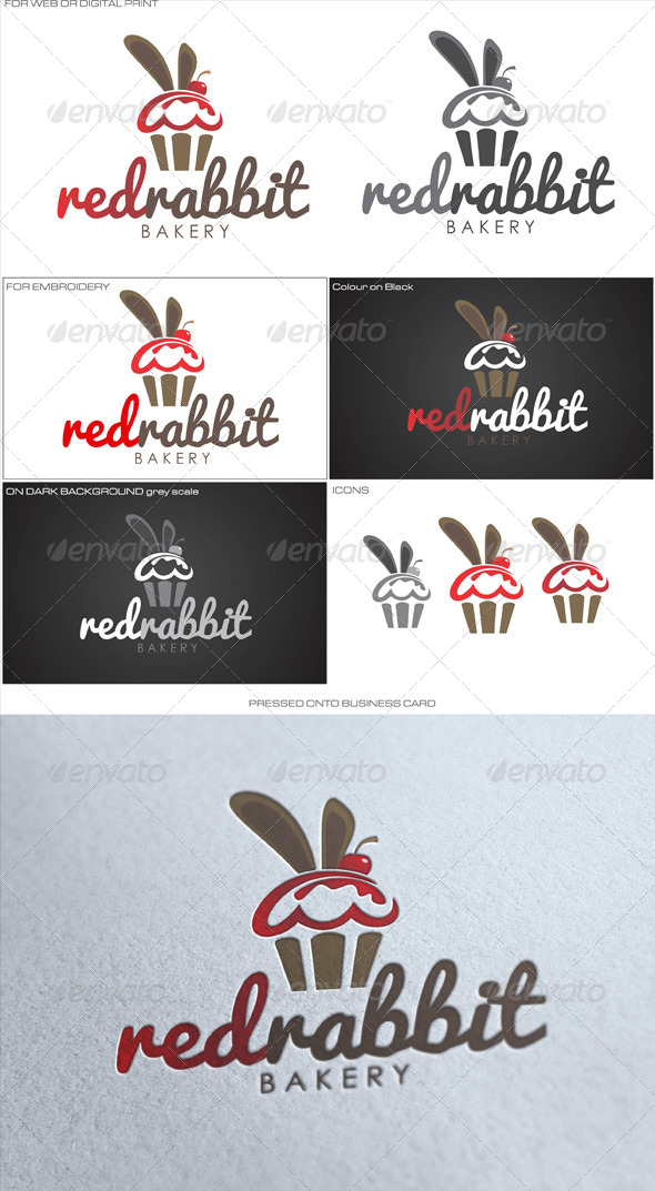 GraphicRiver Red Rabbit Bakery 4751362