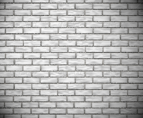 GraphicRiver White Brick Wall 4817324