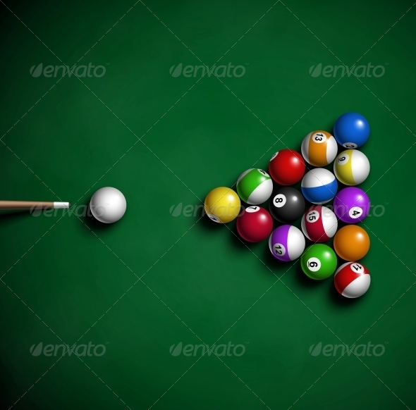 GraphicRiver Billiard Balls 4817387