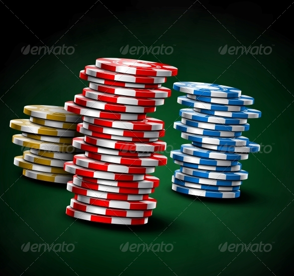 GraphicRiver Casino Chips 4817396