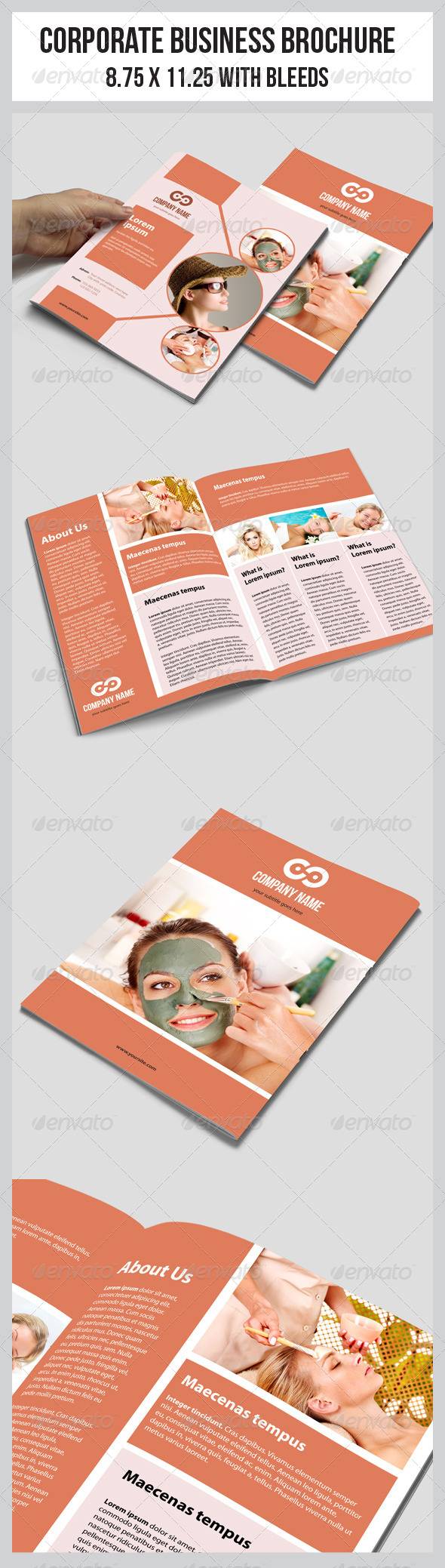 Multipurpose Business Brochure Template - Corporate Brochures