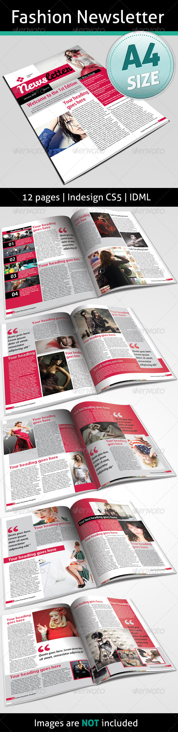 GraphicRiver Fashion Newsletter 4817962
