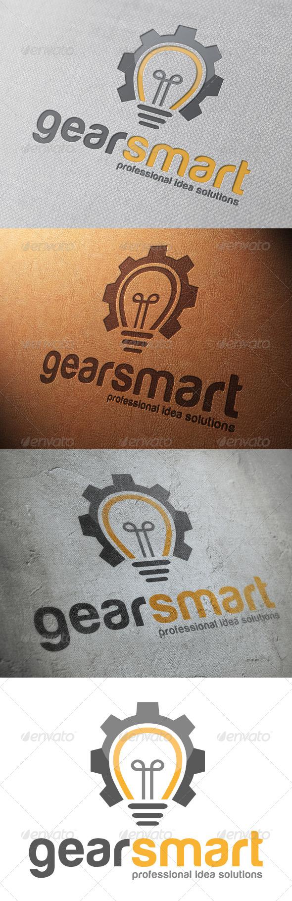 GraphicRiver Idea Gear Logo Template 4818342