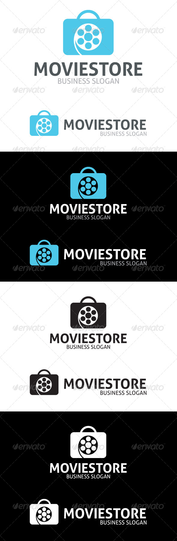 GraphicRiver Movie Store Logo 4818403