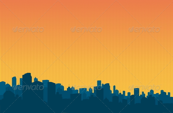 GraphicRiver City Background 4819256