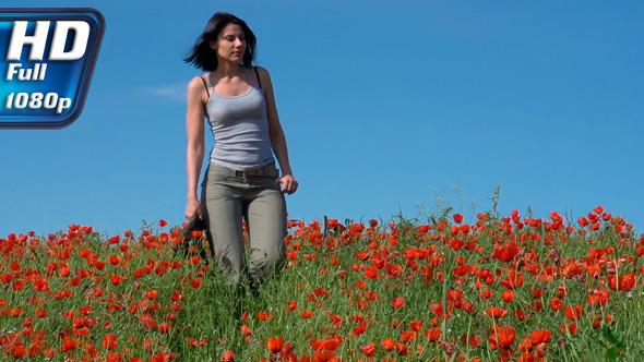 Walk in the Poppy Field