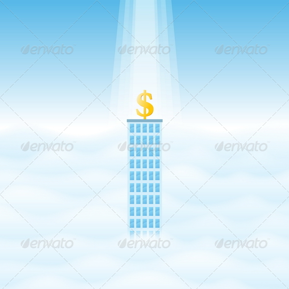 GraphicRiver Blessed Business 4819354