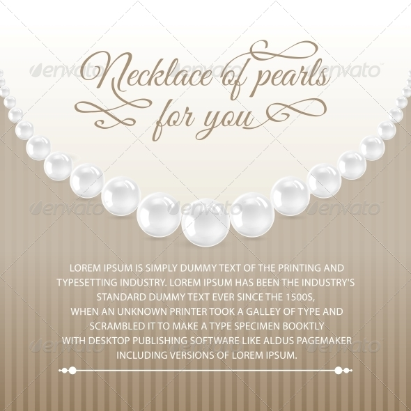GraphicRiver Card from Necklace 4819428